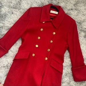 80's Vintage Dior Women's s Wool Long Coat